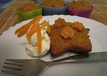 Mrkvové muffiny nebo koláč