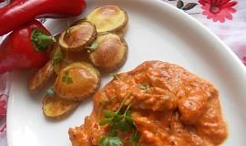 Omáčka z pečené papriky