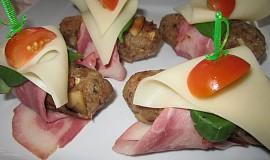 Pohankové krokety ve slaninovém kabátku