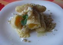 Pomerančové knedlíky z tvarohového těsta