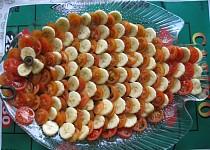 Rajčato - česneko - banánový salát