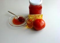 Rajčatová marmeláda ochucená rumem