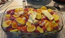 """Ražniči bez špejlí  """"zapečené brambory"""" ... z toho co máte doma"""