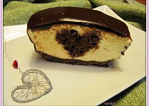 """Srdíčkový """"cheesecake"""""""