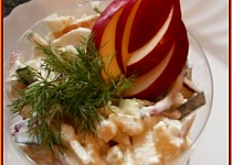 Bramborový salát s fenyklem a jablky