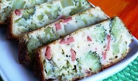Brokolicový chlebík se sýrem