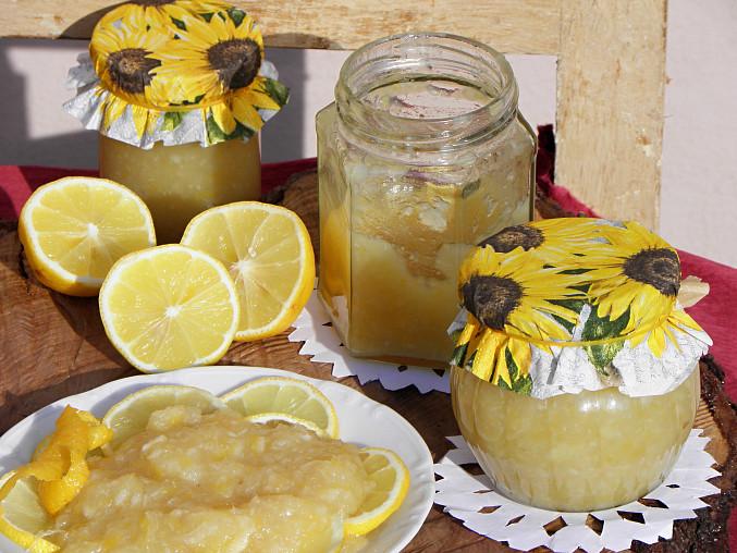 Citrónová marmeláda, citrónová marmeláda