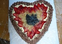 Dort srdce s ovocem