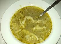 Dršťková polévka z předvařených drštěk