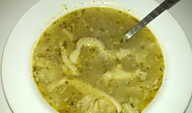 Držťková polévka z předvařených držťek
