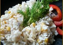 Fenyklové rizoto s kukuřicí a smetanou