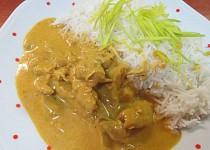 Indické kuřecí kari