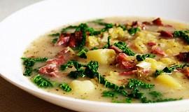 Jednoduchá kapustová polévka