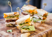 Klasický Club sandwich