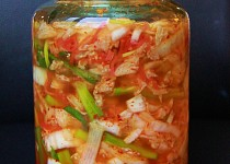 Korejské kimči ( kvašená národní zdravá pochoutka)