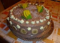 Krémový dort pro babičku