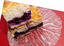 Kynutý borůvkový koláč s tvarohovou nádivkou  - nejen pro diabetiky