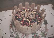 Lentilkový dortík