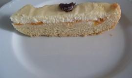 Linecký koláč s tvarohovou nápní