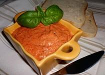 Paštika z pečených paprik