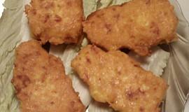 Rychlé smaženky z rohlíků a sýrového těstíčka
