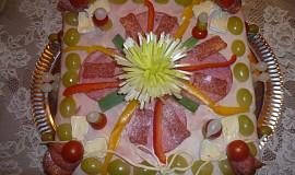 Slaný dort - salámový
