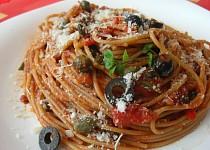 Špagety à la puttanesca
