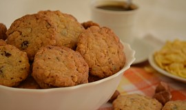 Sušenky z kukuřičných lupínků