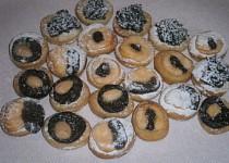 Svatební koláčky - nekynuté