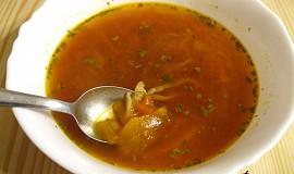 Zeleninová polévka s miso pastou