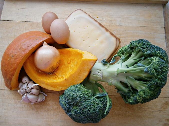 Zeleninové kuličky jako pečenáče i hlavní chod, Část použitých surovin