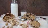 Arašídové sušenky s čokoládou