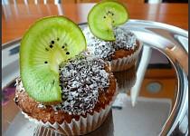 Bezlepkové kokosové muffinky s Monte