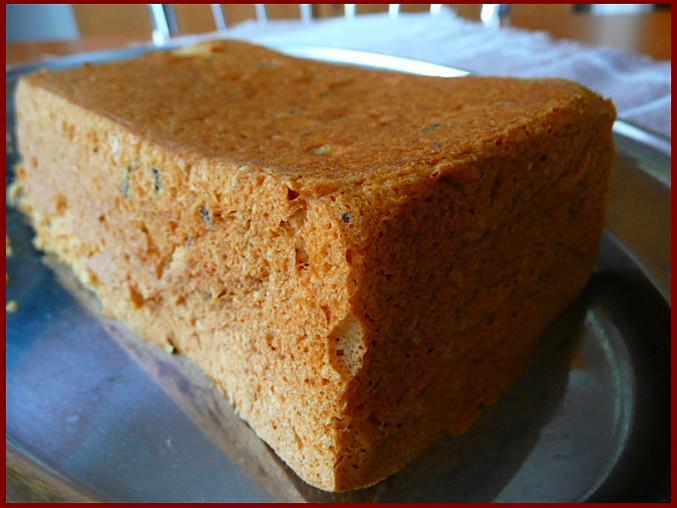 Bezlepkový bílkový chlebíček
