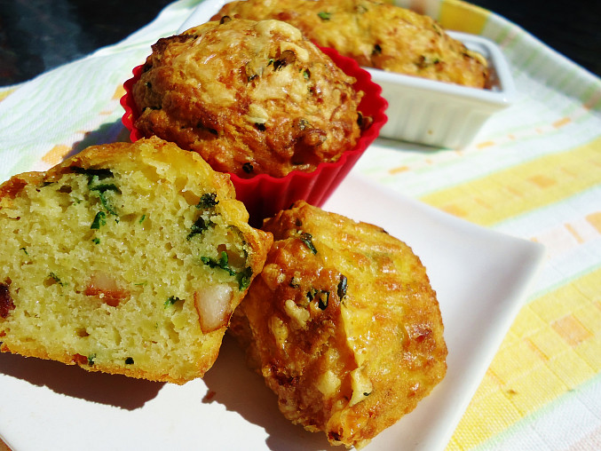 Bramborákové muffiny