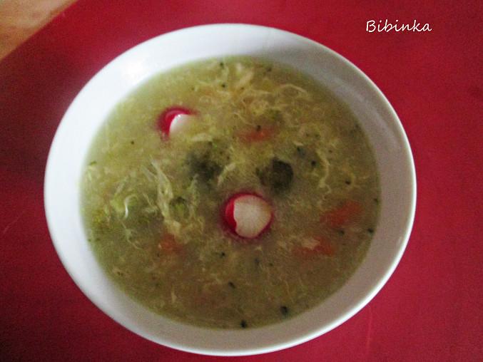 Brokolicovo-zeleninová polévka, Brokolicovo-zeleninová polévka