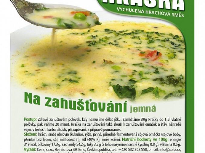 Chřestová polévka s mrkví, Hraška