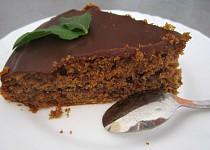 Čokoládový dortík s pomeranči