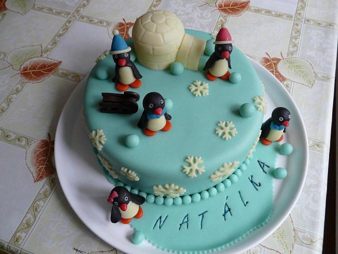 Dort pro mou vnučku Natálku k 1. narozeninám