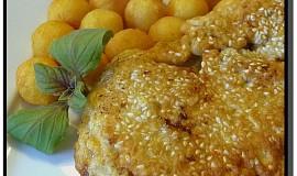Kuřecí řízky v těstíčku se sezamem