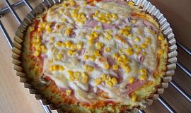 """Květáková """"pizza"""""""