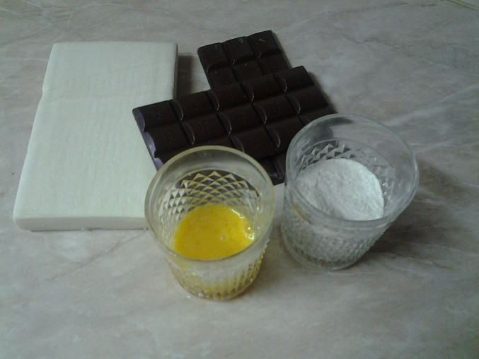 Listové šátečky s čokoládou