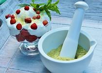 Mátovo - meduňkový cukr