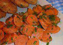 Salát z vařené mrkve