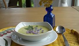 Pórkovo-cuketová krémová polévka