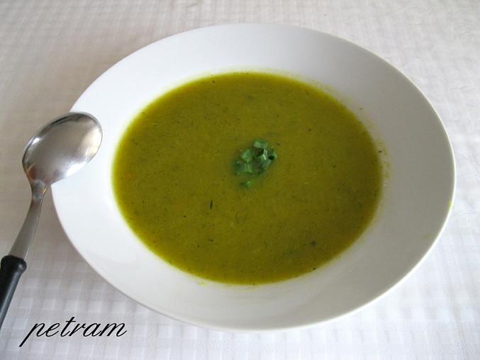 Pórkovo-dýňová polévka