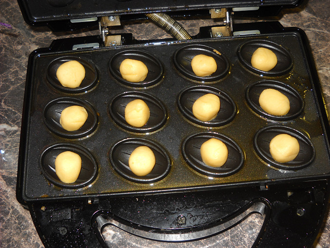 Ruské ořechy II - recept z návodu