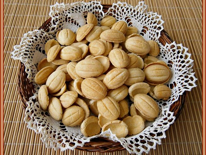 Ruské ořechy z vaflovače ve slaném provedení, Ruské ořechy z vaflovače ve slaném provedení