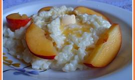 Rýžová kaše z domácí pekárny