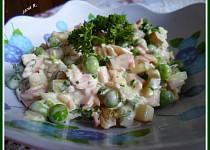 Salát z hrášku